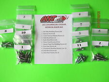 1967 - 1968 MERCURY COUGAR INTERIOR & EXTERIOR SCREW KITS    76 pcs.