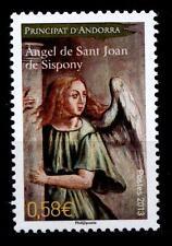 Angel from Church Sant Joan, Rustic. Christmas. 1w. Andorra Franz. POST 2013