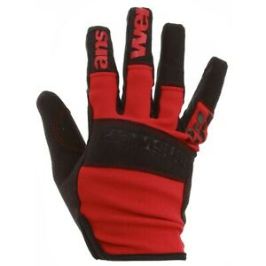 Answer Enduro Gloves Red MTB NEW