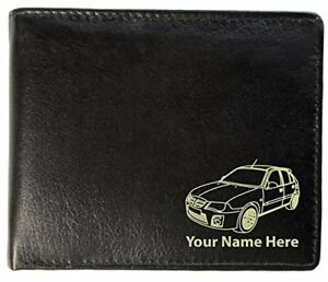 MG ZR Design, Personalised Mens Leather Wallet