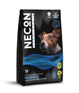 Food for Dogs 12 KG Without Cereal 'Sensible' With Salmon, Peas And Favetta