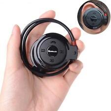 Sport Wireless Bluetooth 3.0 Headset Headphone Earphone Stereo Mini 503 Black DN