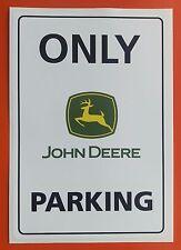John Deere aparcamiento Adhesivo Calcomanía la agricultura Tractor grande de 200mm X 135mm