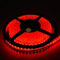 5M RED 3528 SMD 600LEDs Waterproof IP65 Flexible LED Strip Lights 12V 120leds/m