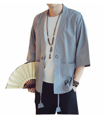 MEN JAPANESE MODERN POKETTO SHIRT KIMONO