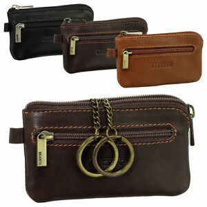 Branco Leder Schlüsseltasche Schlüsseletui Schlüsselmappe Auto Etui Tasche 7824