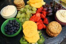 Large Slate PIASTRA PIATTO tovagliette formaggio Board Sottopentola 50cm da 37cm-xmas REGALO