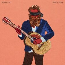 Iron & Wine BEAST EPIC (DELUXE) +MP3s SUB POP New Blue / Red Colored Vinyl 2 LP
