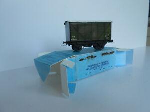 hornby dublo pre war G,W,R 12 Ton Goods Van D1Boxed