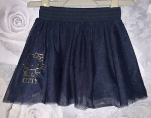 Girls Age 12-18 Months - M&S Hello Kitty Navy Party Skirt
