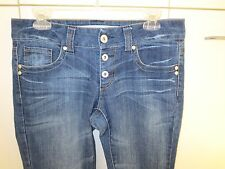 Mossimo Skinny Lowest Rise Skinny   Button Fly  Size 11 NWOT  Lot G25