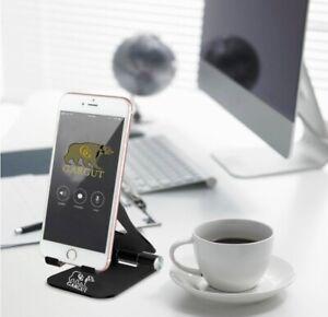 GARGUR Foldable Desktop Desk Stand Holder Mount For Cell Phone and Tablet Pad