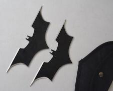 Brand New Sharp Double Edge Stainless Steel Throwing Knife Dagger Set Bat Dagger
