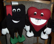 Bible & Heart Professional Ventriloquist Ministry Puppet Set of Two-VBS,Missions