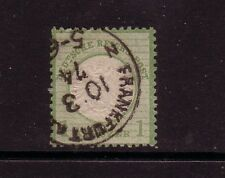 Germany. 1872 ½kr green used, type B