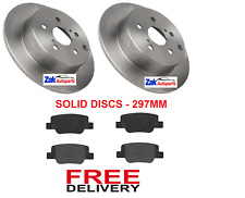 FOR TOYOTA VERSO 2.0 D-4D (2009-2013) REAR BRAKE DISCS AND BRAKE PADS BRAND NEW