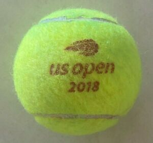 2018 US OPEN TENNIS BALL (I got this ball while watching the Open in New York!)