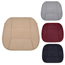 PU Leather Car Front Seat Cover Auto Chair Cushion Breathable Pad Mat Universal