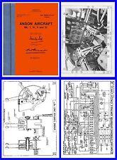 Avro Anson Operation Manual - RAAF / RAF AP1525 on CD