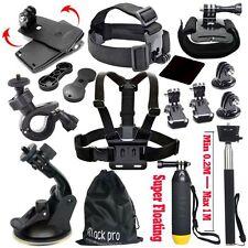 15-in-1 Essentials Accessories Kit GoPro Hero 5/4/3/2/1 Session Hero LCD Black