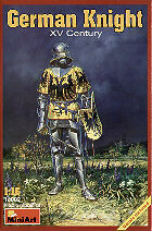 Miniart 1/16 caballero alemán siglo XV # 16002