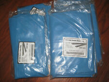 Qty of 5: (3) 10' ft & (2) 8' ft Heavy Duty 20G Double Chamber Water Tube Bags
