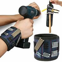 Blackspur Magnetic Wrist Band Strap Holder for Screws and Nails etc