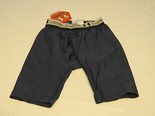 Under Armour UA compression shorts 0026 MDN navy blue logo active sports S Mens