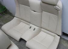Inkl. UMBAU BMW E63 Coupe Rücksitzbank Sitze Leder Innenausstattung beige Cabrio