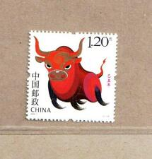 China 2009-1 Lunar New Year Ox Cow Stamp from Booklets - Animal