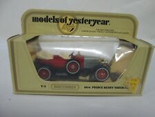Vintage Matchbox Models of Yesteryear Y-2 1914 Prince Henry Vauxhall
