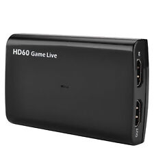 HDMI Video Capture Card with Mic,HD 1080P 60fps Game Video Record Live Streaming
