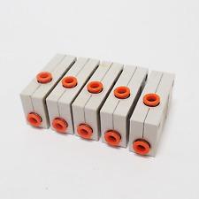 LOT OF 5 SMC ZHI10B ZH SERIES VACUUM EJECTORS, BOX TYPE / BUILT IN SILENCER