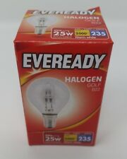20w Halogen Clear Round Golf Light Bulbs SES Small Screw In E27 25w 4 10 Bulbs