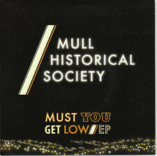 """Mull Historical Society - Must You Get Low EP 7"""" clear vinyl"""