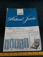 ☆Vintage MAGAZINE NATIONAL JEWELER January 1961 Issue