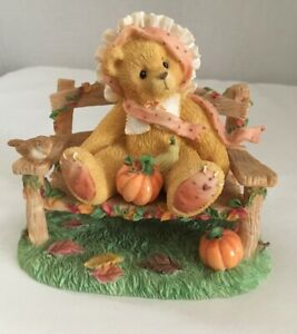 """Cherished Teddies Cathy """"An Autumn Breeze Bows Blessings To Please"""" #269980"""