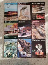 Mainline Modeler Magazine 1995- partial set