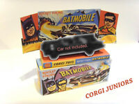 CORGI JUNIORS - BATMOBILE - Superb custom display box and tray ONLY  Assembled