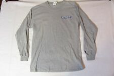 Long Sleeve Tshirt M gray - WESTWOOD ONE vintage logo, Cumulus Media