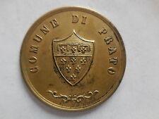 medaglia al merito dle comune di prato in argento