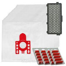 20 Sacchetti Per Aspirapolvere Miele FJM Sacchetti Hoover C1 C2 COMPACT COMPLETO + Aspirapolvere HEPA Filtro SF-AAC50
