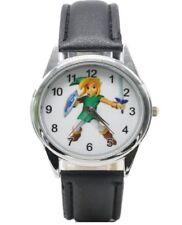 Zelda Link Character Genuine Leather Band WRIST WATCH