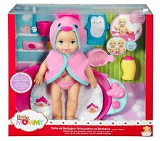 FISHER PRICE LITTLE MOMMY BUBBLY BATHTIME DELUXE DOLL & ACCESSORIES DTG64  *NEW*