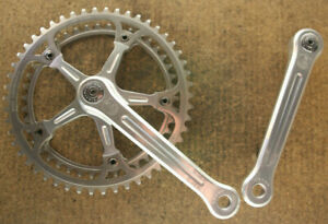 Vintage Campagnolo Super Record cranks crankset chainset kurbeln NOS NEW ring