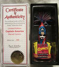 Marvel Comics Captain America Kooky Kollectible Pen Limited Edition 1 of 500