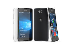 "Microsoft Lumia 650 16GB White 5"" 8MP Windows Phone 10 Phone By FedEx"