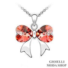 Collana con Ciondolo Farfalla Donna Crystal Swarovski Elements - G173