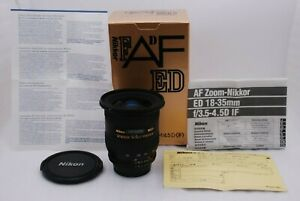 [Near Mint+ in Box] NIKON AF Zoom-NIKKOR 18-35mm F/3.5-4.5 D ED From Japan