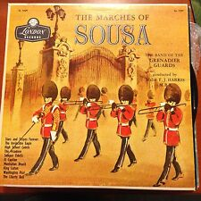 THE MARCH OF SOUSA-LP-LONDON-1229 F.J. HARRIS